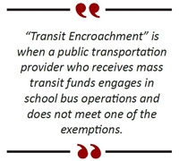 Is Public Transit Encroaching On Your School Bus Operations?