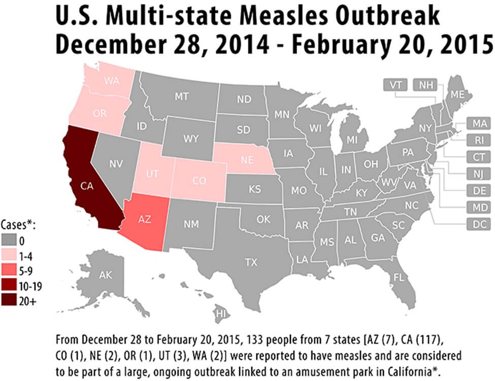Measles Outbreak Could Cause Business Interruption